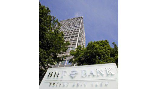 Huptsitz der BHF-Bank Aktiengesellschaft ist Frankfurt am Main.