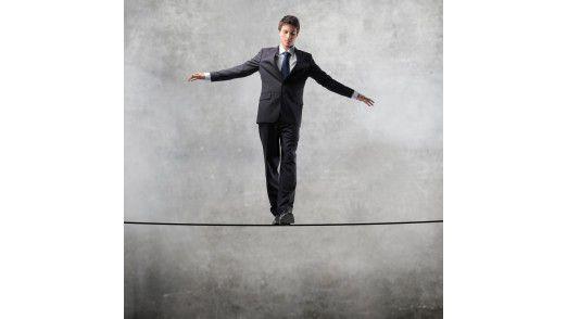 Ein Balanceakt: Der CIO zwischen Kostenkontrolle und IT-Betrieb.