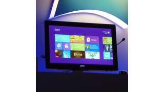 Start-Button ade: Windows 8 Beta: Erste Screenshots - Foto: Martyn Williams, IDG News Service