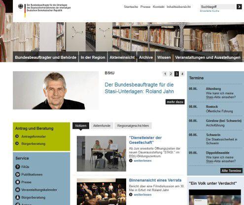 Die neue Homepage des Stasi-Archivs stellt persönliche Geschichten in den Vordergrund.