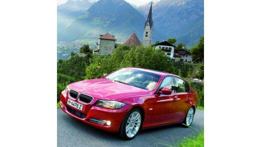 Der 3er BMW gehört zu den beliebtesten Dienstwagen in der Hightech-Industrie.