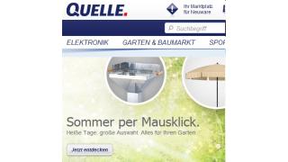 Neustart durch Otto Group: Der neue Web-Auftritt von Quelle.de - Foto: Quelle