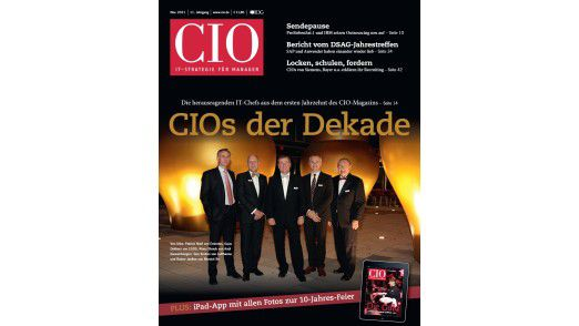 Die neue November-Ausgabe des CIO-Magazins.