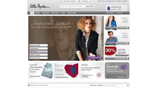 Der Online Shop von Ulla Popken.