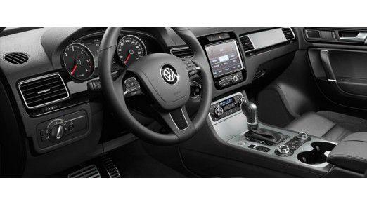 Luxuriös: Das Interieur vom VW Touareg.