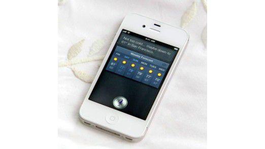Eine der IT-Enttäuschungen: Apples Spracherkennungssoftware Siri.