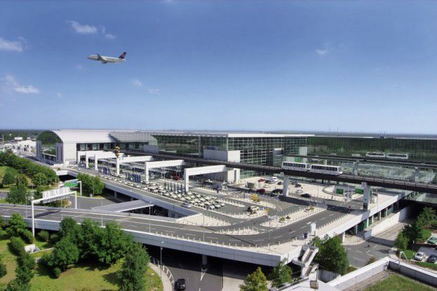 Der Frankfurter Flughafen.