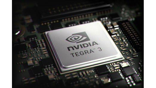 Nvidia bringt mit dem Tegra 3 bis zu vier CPU-Kerne auf mobile Geräte.