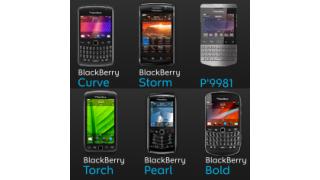 Betriebssystem OS 7 macht Probleme: 7 neue Blackberrys angekündigt - Foto: RIM