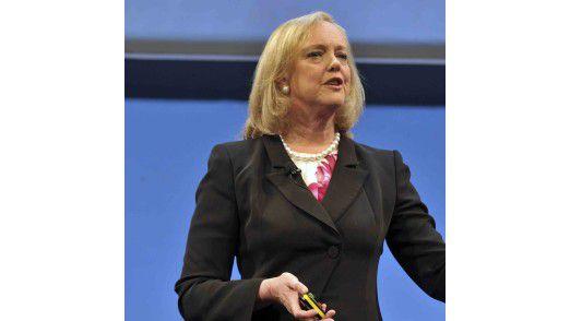 Meg Whitman, neue Chefin bei HP, strebt eine Konsolidierung des Konzerns an. Erweiterte Angebote für Virtualisierung und Cloud sollen dabei helfen.