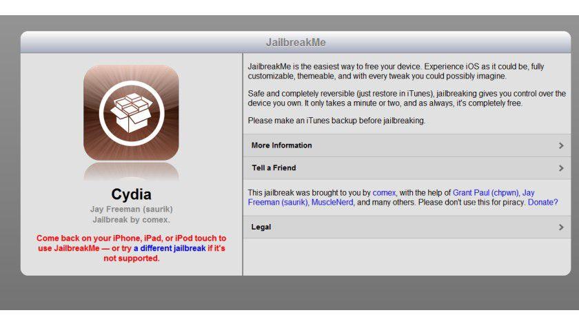Bitte nicht: Rooten und Jailbreaken ist für Geräte im Business-Einsatz tabu.
