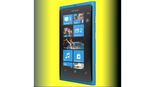 Mit dem Lumia 800 möchte Nokia verlorene Marktanteile zurückerobern.