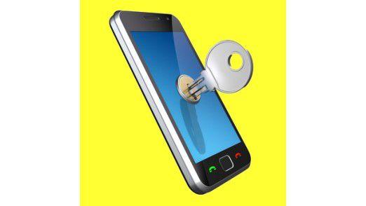 Praktisch wäre, wenn sich das Smartphone abschließen ließe wie die Wohnung.
