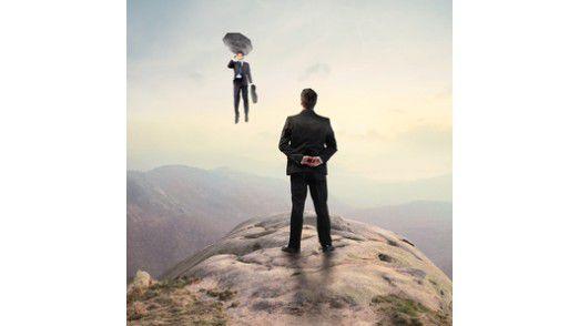 Die Identifikation von Führungskräften mit der eigenen Aufgabe ist hoch: 92,2 Prozent von ihnen sagen von sich selbst, dass sie eine sinnvolle Tätigkeit ausüben.