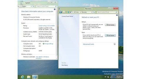 Windows 8 Beta - erste Screenshots von Windows 8 Consumer Preview - Foto: ©http://bbs.pcbeta.com