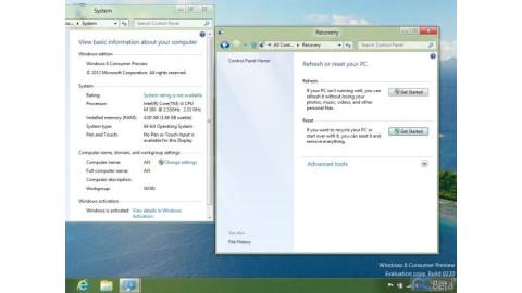 Windows 8 Beta - erste Screenshots von Windows 8 Consumer Preview - Foto: ©http://bbs.pcbeta.com