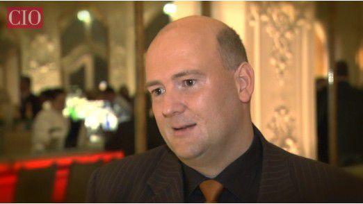 Clemens Blauert spielt zweimal pro Woche Squash.