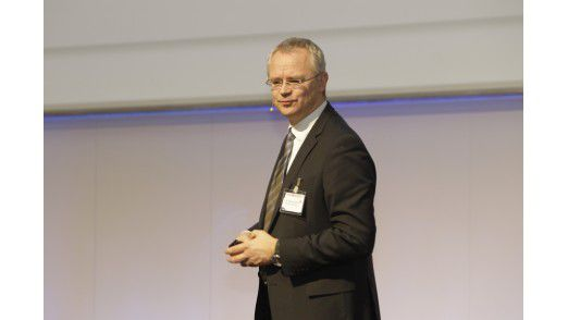 Lufthansa-CIO Thomas Endres auf den Hamburger IT-Strategietagen 2012.