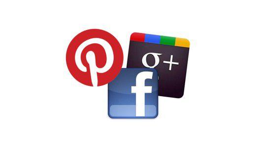 Facebook, Google+, und nun auch Pinterest, die Pinwand fürs Internet: Obwohl Facebook alles dominiert, gibt es Bewegung im Markt der Sozialen Netzwerke.