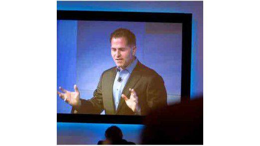 """Dell-Chef Michael Dell hatte schon vor zwei Jahren die """"virtuelle Ära"""" proklamiert. Doch gerade kleinere Unternehmen spielen nicht mit."""