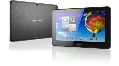 iPad-Rivalen mit Android - Foto: Acer