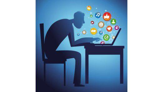 """TMFI steht für """"Too much Facebook Information"""". Viele finden bei Statusmeldungen noch nicht das richtige Maß."""