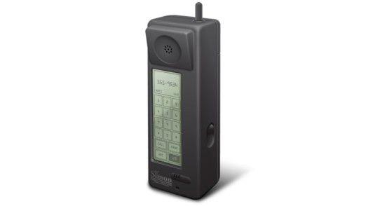 IBM Simon: Ein Urahn moderner Smartphones.