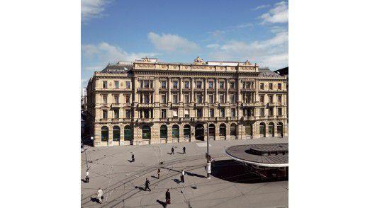 Der Sitz der Credit Suisse in Zürich
