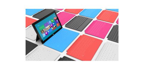 Microsoft Surface - Foto: Microsoft