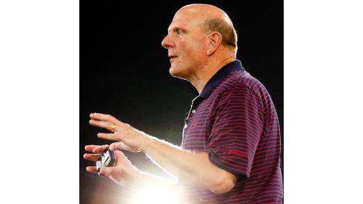 Steve Ballmer erhofft sich viel vom neuen Betriebssystem: Mobilität und Vernetzung sind zwei Versprechen.