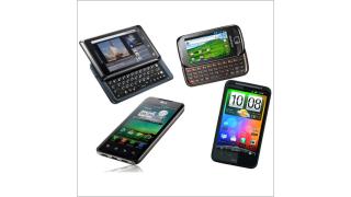 Vergleichstest: Das beste Android Smartphone im Test - Foto: Motorola, Samsung, LG, HTC