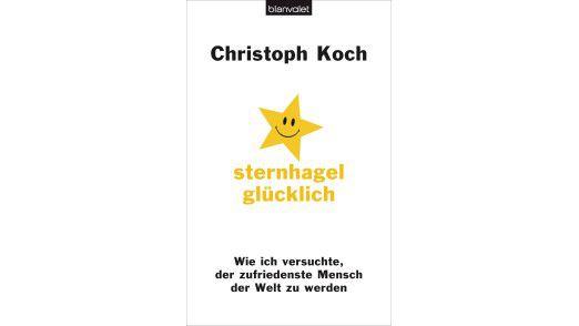 """In seinem neuesten Buch """"Sternhagelglücklich – wie ich versuchte, der zufriedenste Mensch der Welt zu werden"""" (Blanvalet Verlag, 288 Seiten, 14,99 Euro) widmet Christoph Koch sich der Suche nach dem Glück."""