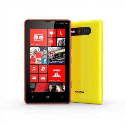Farbenfroh: das Nokia Lumia 820.