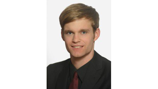 Andreas Vogelsang promoviert an der TU München. Der 28-Jährige wird beim Software-Campus zwei Jahre lang gefördert, um später Führungsaufgaben zu übernehmen.