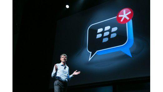 RIM CEO Thorsten Heins spricht über die Neuerungen in Blackberry OS 10.