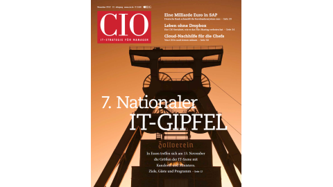 Blick ins CIO-Magazin November 2012 - Foto: cio.de