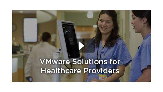 Im Gesundheitswesen bringen virtuelle Desktops eine entscheidende Verbesserung in der Arbeitsproduktivität. Ärzte und Pfleger müssen sich nicht ständig neu einloggen.