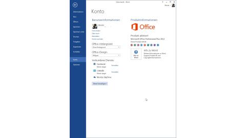 Office 2013 im Überblick