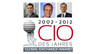 Kollig, Mezler-Andelberg, Raupach: Global Exchange Award 2012 - Die Sieger - Foto: cio.de