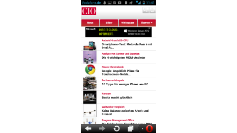 Chrome, Firefox, Orweb, Opera: Alternative Browser für Android