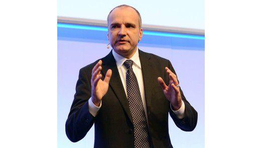 Matthias Moritz, CIO der Bayer Healthcare AG, referierte auf den Hamburger IT-Strategietagen.