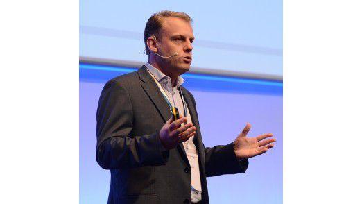 Schindler-CIO Michael Nilles sprach auf den Hamburger IT-Strategietagen 2013.