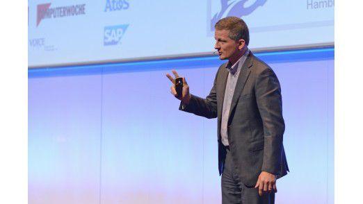 Akzo Nobel CIO Pieter Schoehuijs sprach auf den Hamburger IT-Strategietagen.