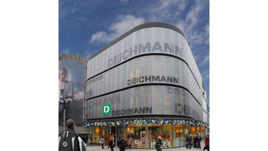 Deichmann setzt auf globale Lösungen.