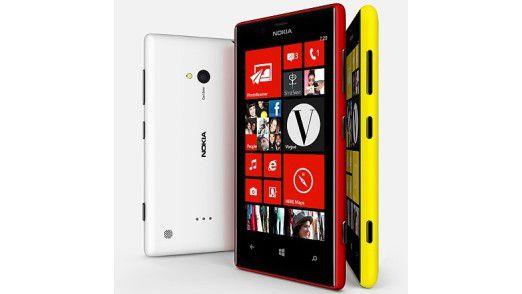 Das Nokia Lumia 720.