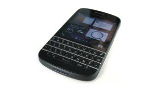 Smartphone mit Hardware-Tastatur: Auf dem MWC ausprobiert: Blackberry Q10