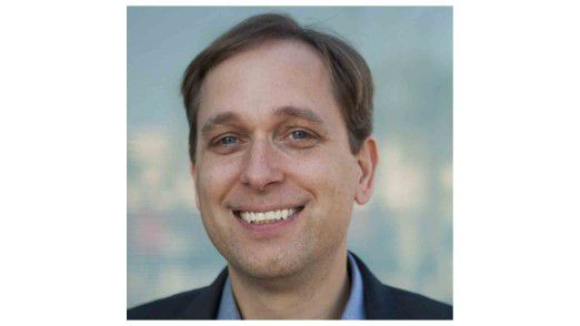 David Flynn, CEO von Fusion-io, hat gut lachen: Sein Start-up hat sich schnell mit seiner Memory-Technologie am Markt durchgesetzt - sogar gegen EMC.