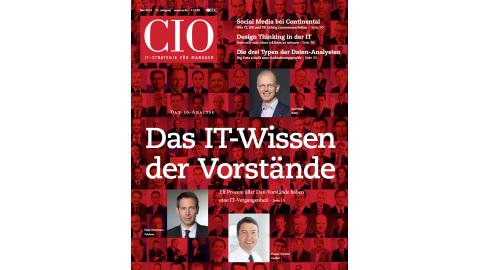 Editorial aus CIO-Magazin: Blick ins CIO-Magazin Mai 2013 - Foto: cio.de