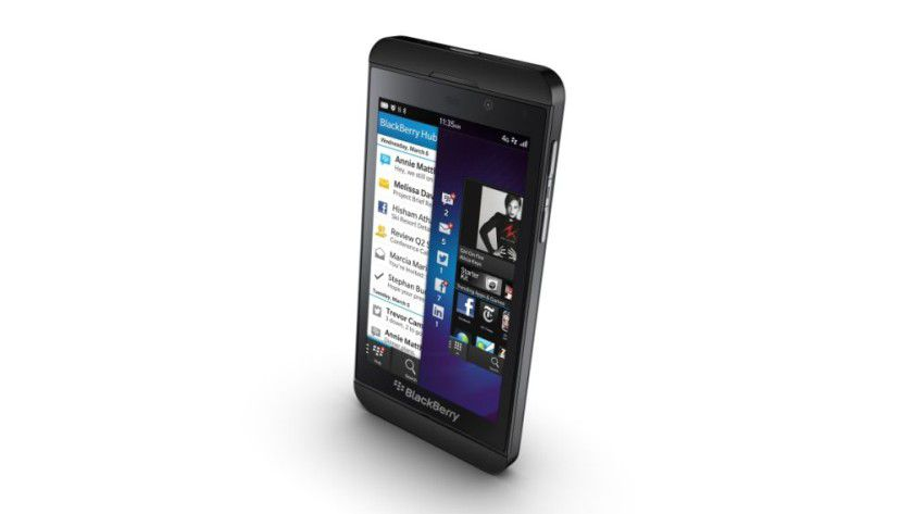 Der BlackBerry Z10.