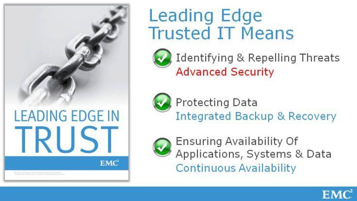 """""""Trust"""" - letztlich nur eine Marketing-Idee, um der Cloud- und Big-Data-Strategie zu mehr Glaubwürdigkeit zu verhelfen."""